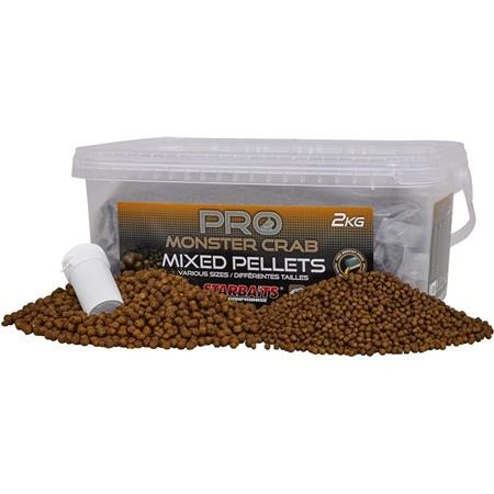 PELLET STARBAITS PROBIOTIC MONSTERCRAB PELLETS MIX
