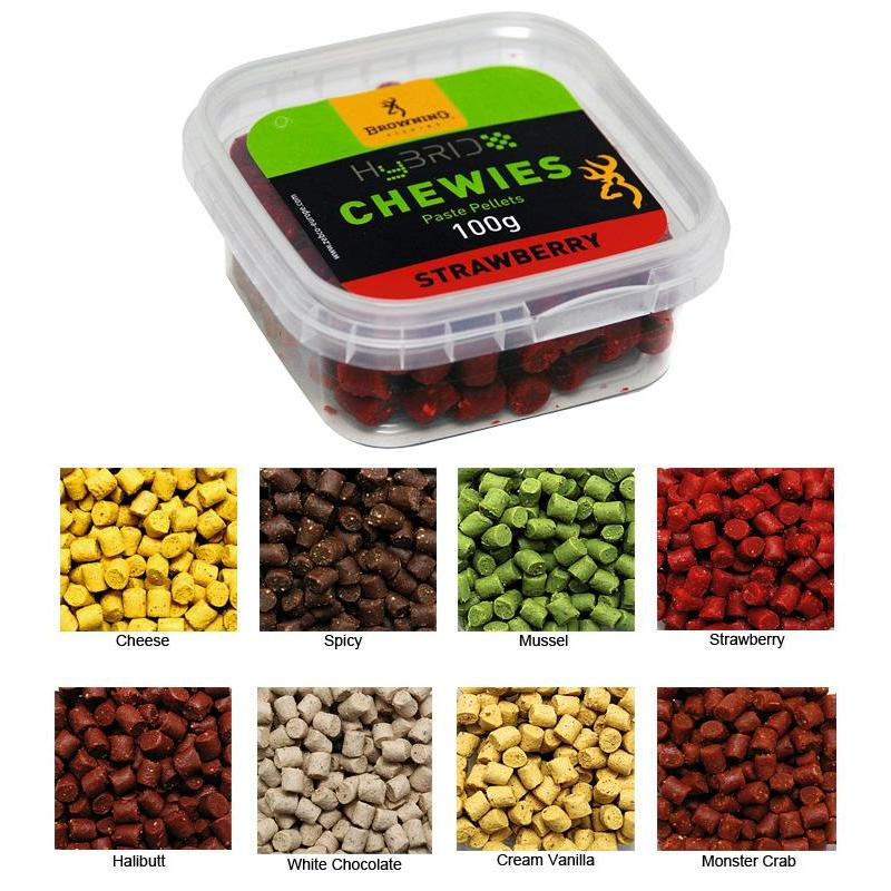 PELLETS BROWNING HYBRID CHEWIES - Arôme Spicy
