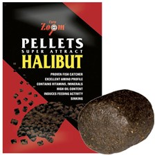 PELLETS CARP ZOOM SUPER ATTRACT HALIBUT