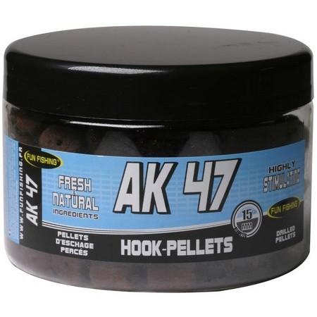PELLETS GEBOHRT FUN FISHING AK 47