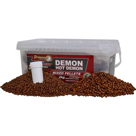 PELLETS STARBAITS PERFORMANCE CONCEPT DEMON HOT DEMON