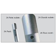 PIECES DETACHEES MOULINET MOUCHE VIVARELLI SERIE ALU