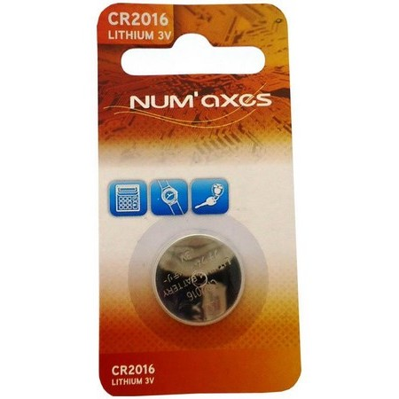 PILE LITHIUM NUMAXES 3V CR2016