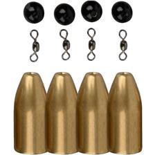 PIOMBO SAVAGE GEAR BRASS BULLETS KITS