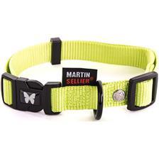 PLAIN NYLON ADJUSTABLE DOG COLLAR MARTIN SELLIER