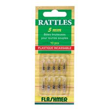 PLASTIC RATTLE FLASHMER - PACK OF 30