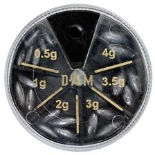 PLOMB DAM OLIVES - BOITE 6 CASES