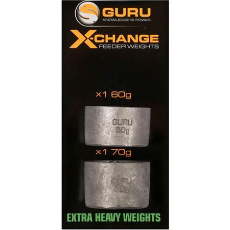 PLOMB POUR CAGE FEEDER GURU X-CHANGE FEEDER WEIGHTS