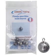 Montage Himara Fishing PREDATEUR EDEN PLOMB POUR MONTURE PLHFX3_12 18GR