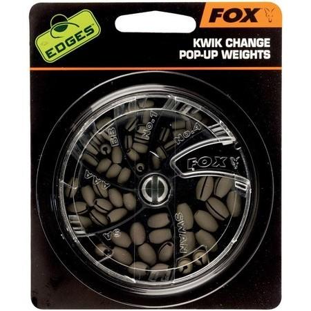 PLOMO FOX KWICK CHANGE POP UP WEIGHT - PAQUETE DE 5