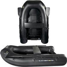PNEUMATISCHE BOOT CARP SPIRIT BLACK BOAT