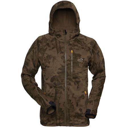 POLAIRE HOMME GEOFF ANDERSON HOODY 3 - LEAF
