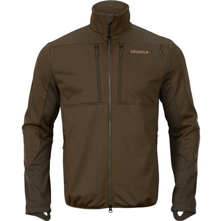 POLAIRE HOMME HARKILA MOUNTAIN HUNTER PRO WSP FLEECE - VERT/MARRON