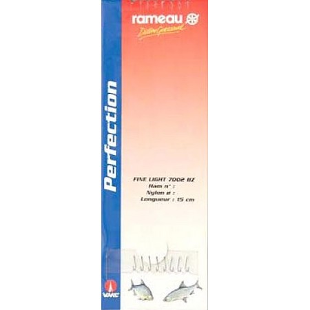 POLE FISHING READY-RIG COMPETITION RAMEAU 7002BZ - PACK OF 8
