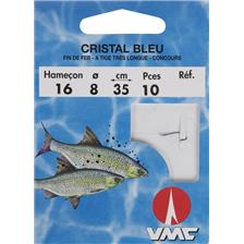 POLE FISHING READY-RIG WATER QUEEN CRISTAL - PACK OF 10