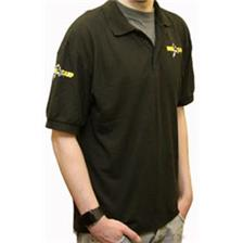 POLO HOMME BRODE NOIR TAILLE XL