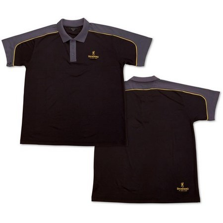 POLO HOMME BROWNING DRYFIT - NOIR