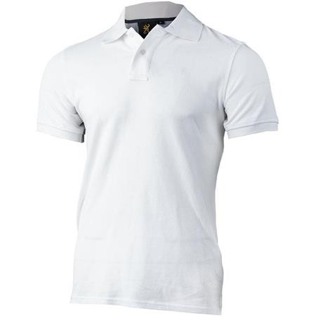 POLO HOMME BROWNING ULTRA 78 - BLANC