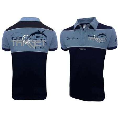 POLO HOMME HOT SPOT DESIGN TUNA TARGET - BLEU MARINE