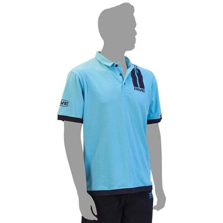 POLO HOMME RIVE STRIPES - BLEU