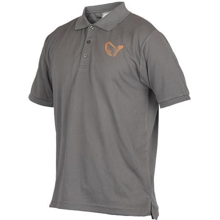 POLO HOMME SAVAGE GEAR SIMPLY SAVAGE CREW - GRIS