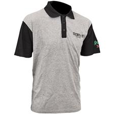 POLO HOMME SENSAS CLUB BICOLORE - GRIS/NOIR
