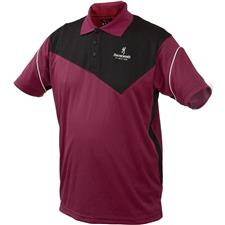 Apparel Browning DRY FIT POLO NOIR/PRUNE TAILLE XL
