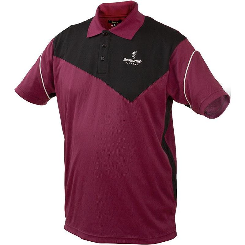 Browning Courtes Homme Polo Manches Fit Dry Noirprune Nk0OPnw8X