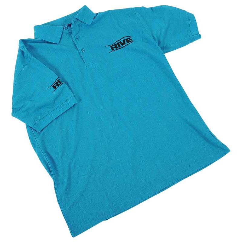 Manches Rive Turquoise Courtes Homme Polo UpqGSMzV