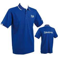 POLO-SHIRT MAN DAIWA - BLUE