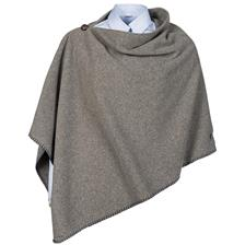 PONCHO FEMME BALENO SHIRLEY - GRIS