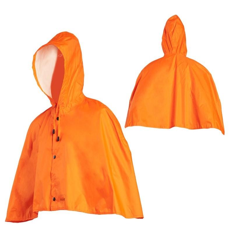 poncho mixte baleno drache orange. Black Bedroom Furniture Sets. Home Design Ideas