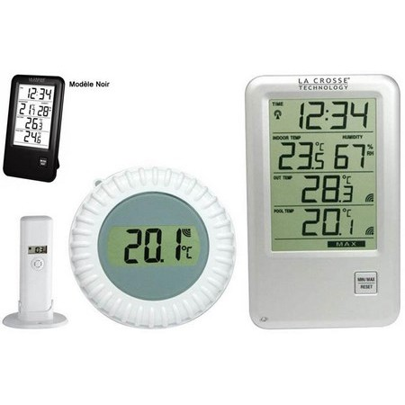 POOLTHERMOMETER-STATION LA CROSSE TECHNOLOGY WS9068