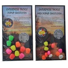 Baits & Additives Entreprise Tackle POP UP ARTIFICIEL MAIS MAÏS FLUO