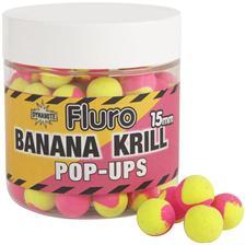 POP-UP DYNAMITE BAITS FLURO TWO TONE POP-UPS KRILL ET BANANA FLURO