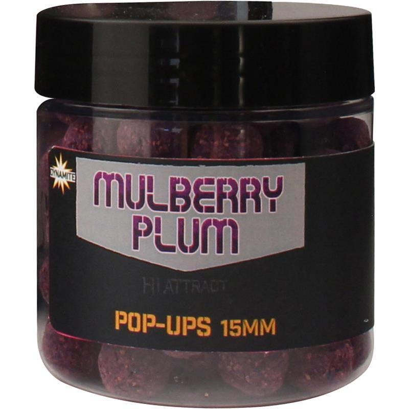 mulberry plum  Pop ups dynamite baits mulberry plum pop-ups