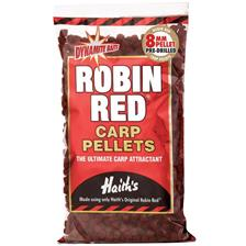 PRE-DRILLED PELLETS DYNAMITE BAITS ROBIN RED