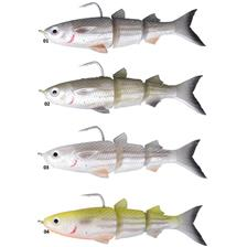 PRE-RIGGED SOFT LURE SAVAGE GEAR 3D TPE MULLET - 13CM
