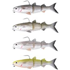PRE-RIGGED SOFT LURE SAVAGE GEAR 3D TPE MULLET WAKE - 13CM