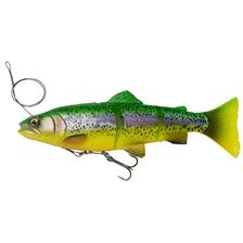PRE-RIGGED SOFT LURE SAVAGE GEAR 4D LINE THRU TROUT - 15CM