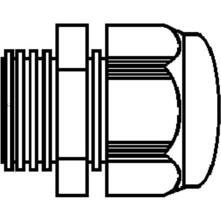 Presse etoupe bals elektrotechnik pour socle male for Nc elektrotechnik
