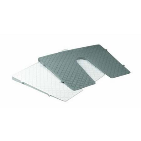 PROTEGE TABLEAU PLASTIQUE INCLINE 450 X 360MM PLASTIMO