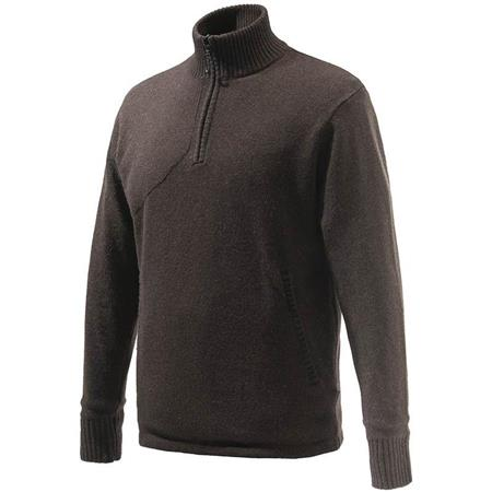 PULL HOMME BERETTA HONOR WINDSHIELD SWEATER - MARRON
