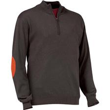 PULL HOMME CLUB INTERCHASSE WINSLEY - MARRON