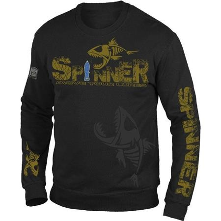 PULL HOMME HOT SPOT DESIGN SPINNER - NOIR