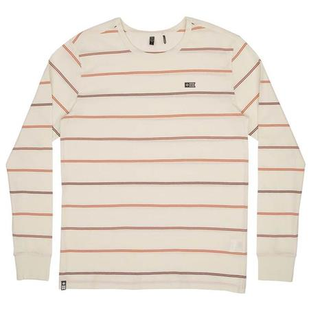 PULL HOMME SALTY CREW CHARTER L/S KNIT - BLANC