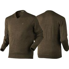PULL HOMME SEELAND ESSEX - MARRON