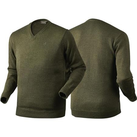 PULL HOMME SEELAND ESSEX - OLIVE