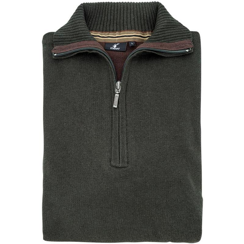 PULL HOMME STAGUNT DEER DUSTY LIVE - OLIVE - S