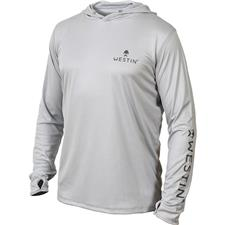 PULL HOMME WESTIN PRO GUIDE UPF LONG SLEEVE - GRIS